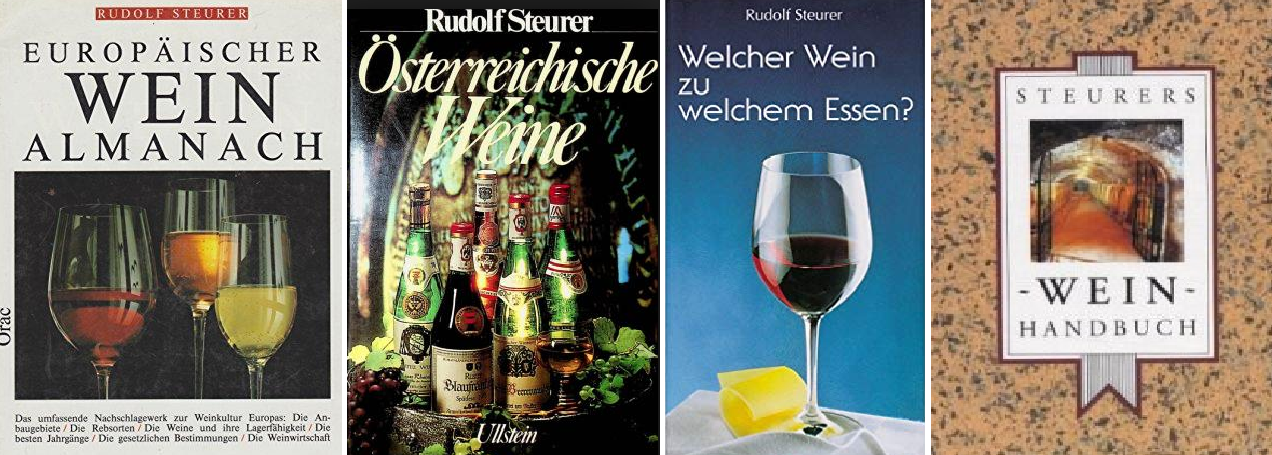 Steurer Rudolf - four book covers