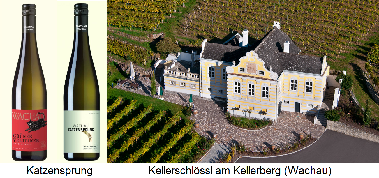 A stone's throw - Wines and Kellerschlössl