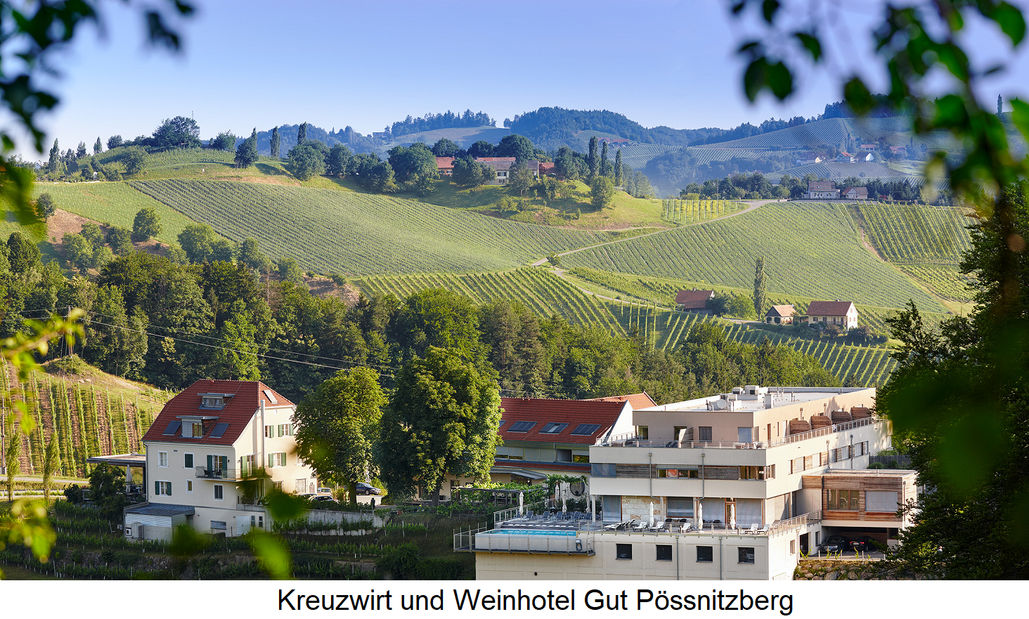 Polz Erich and Walter - Kreuzwirt and Weinhotel Gut Pössnitzberg