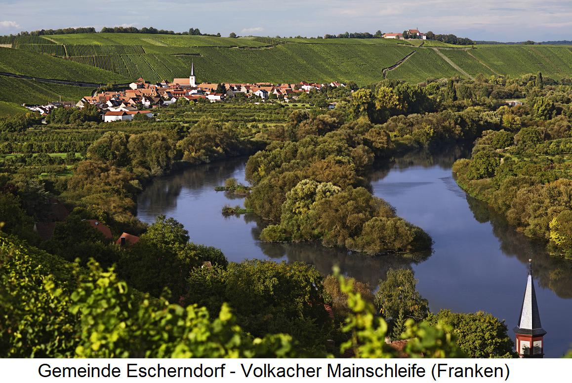 Franconia - Escher village Volkacher Main loop