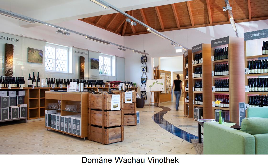 Domain Wachau - vinotheque