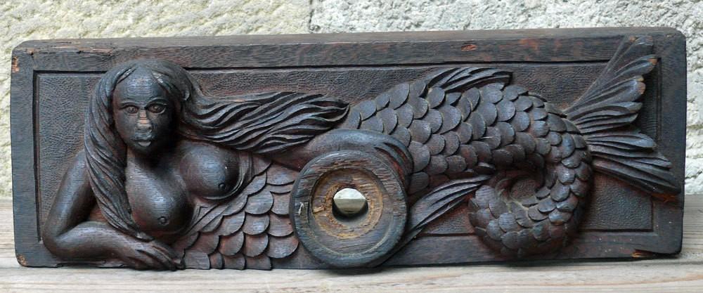 Barrel latch - mermaid
