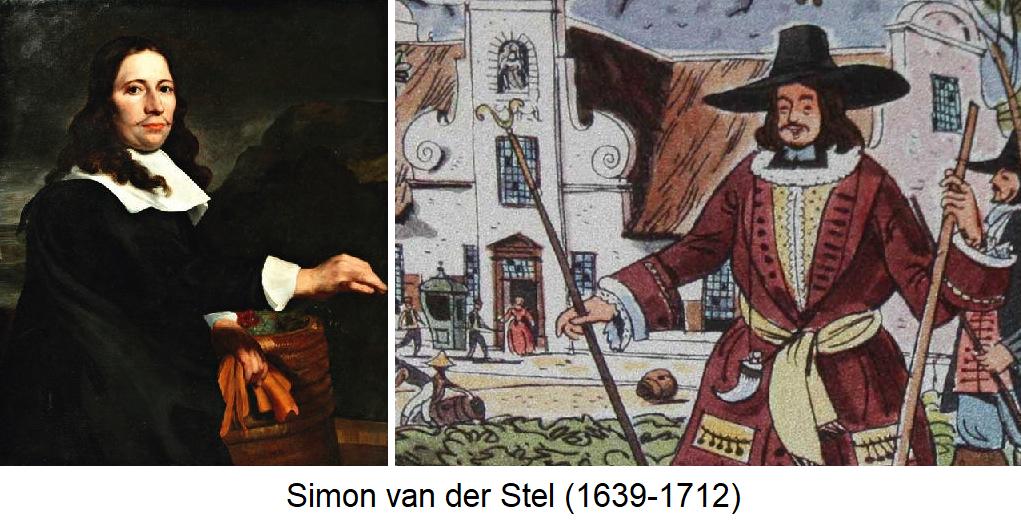 Simon van der Stel - Portrait