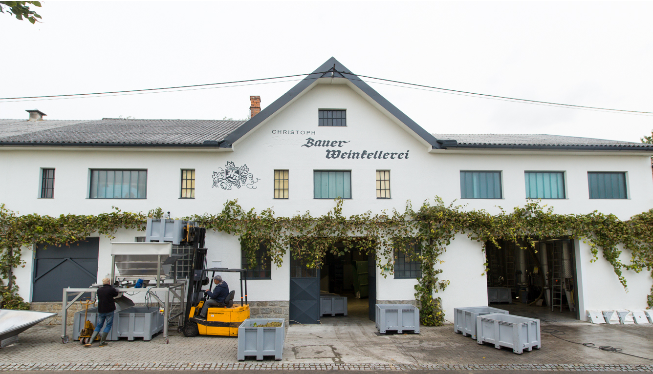Farmer Christoph - winery building