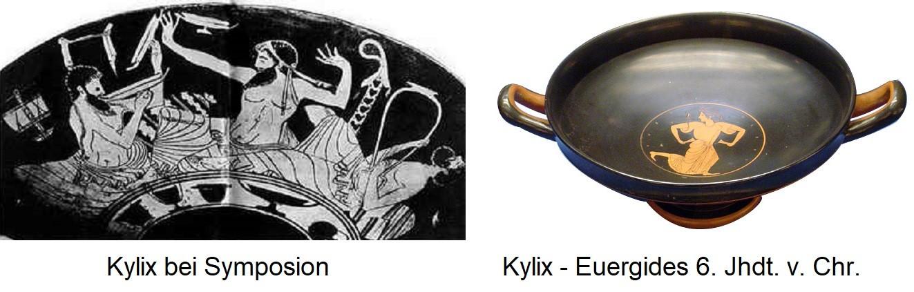 Kantharos - Kylix at Symposium / Kylix by Eiergides