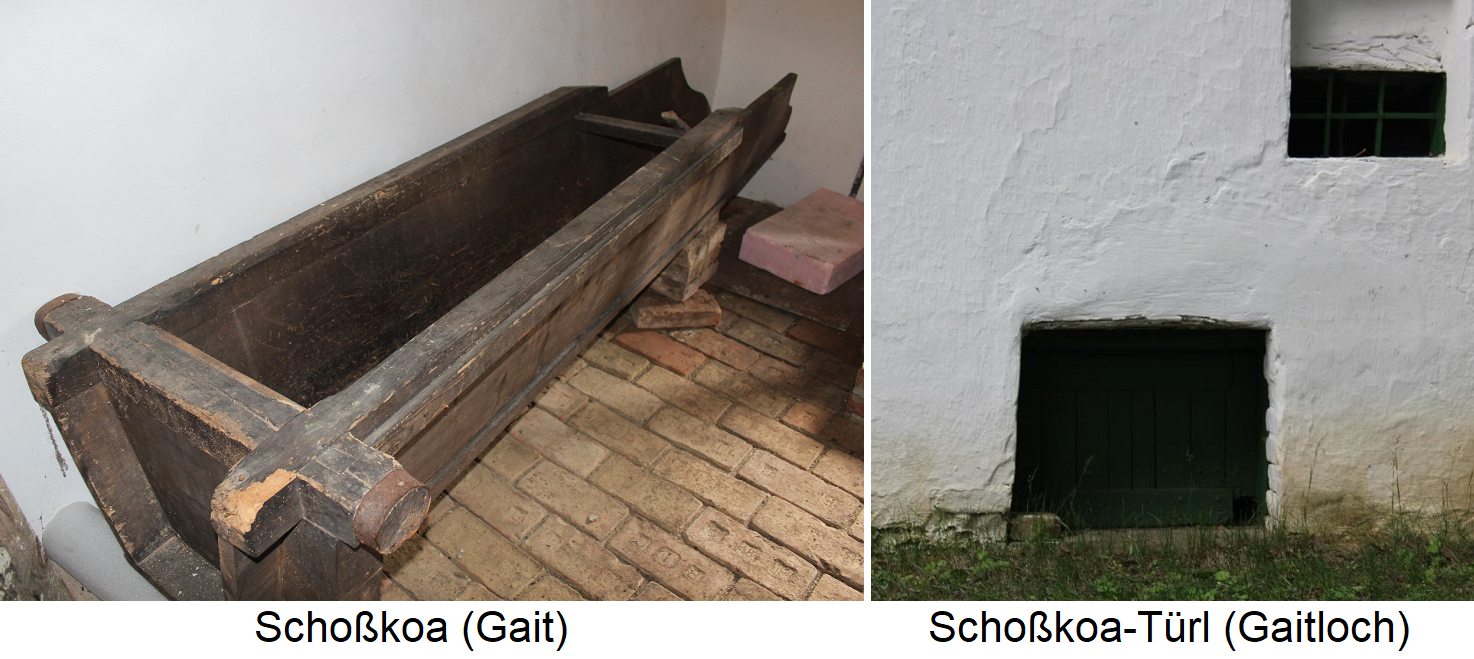 Schoßkoa (Gait) and Schoßkoa-Türl (Gaitloch)