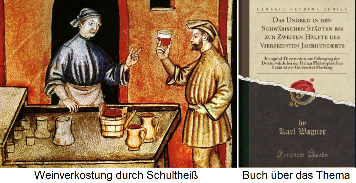Ungeld - wine tasting by Schultheiß, book on the subject
