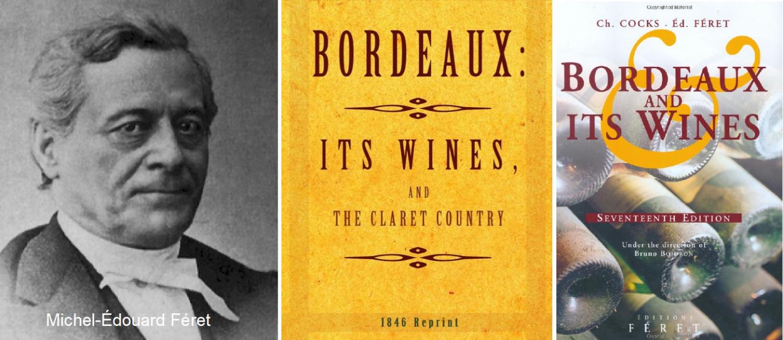 Féret Michel-Édouard - portrait and book cover