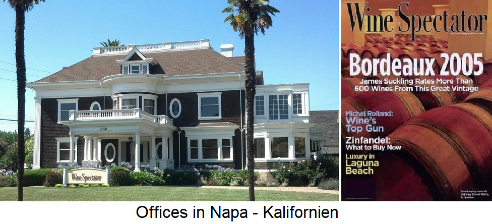 Wine Spectator - Offices in Napa / California and Journal