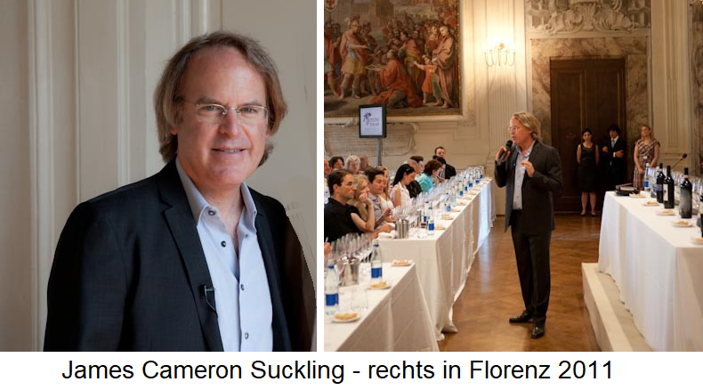 James Suckling - Portrait and Wine Tasting in Florence 2011