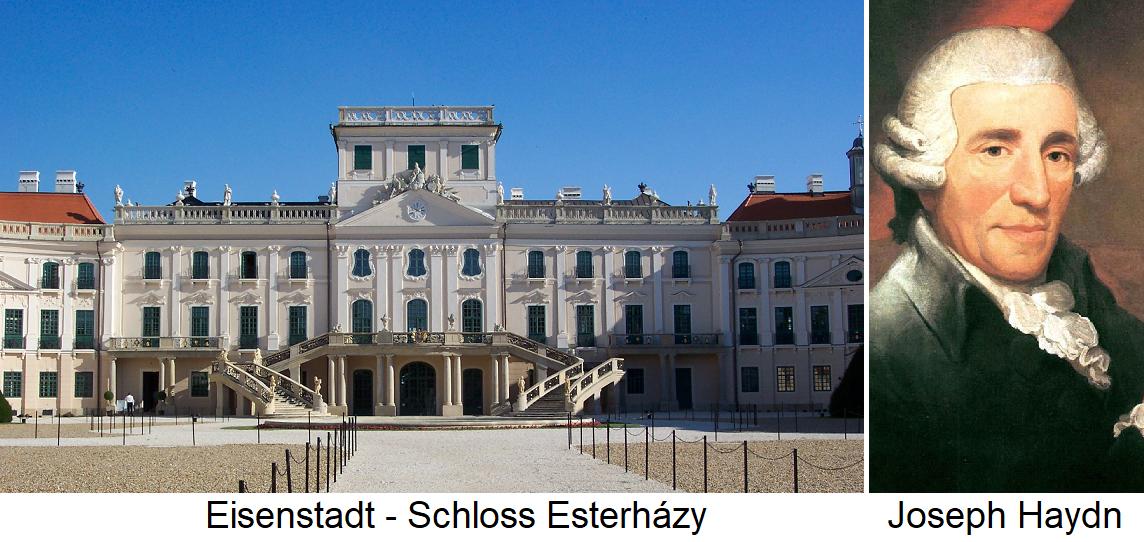 Eisenstadt - Esterházy Haydn Castle and Joseph Haydn