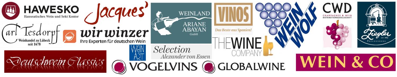 Hawesko - Logos of 17 brands (companies)