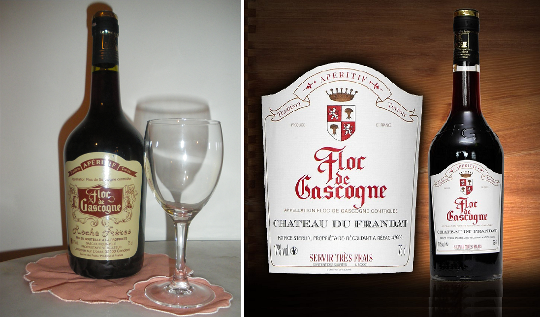 Floc de Gascogne - two bottles / brands