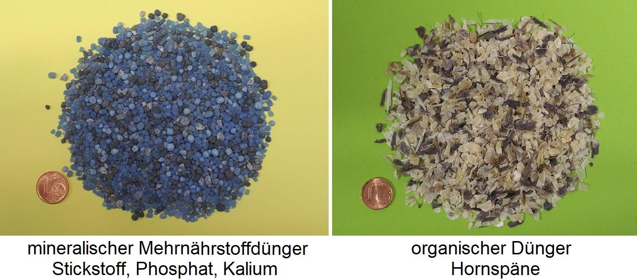 mineral fertilizer / organic fertilizer