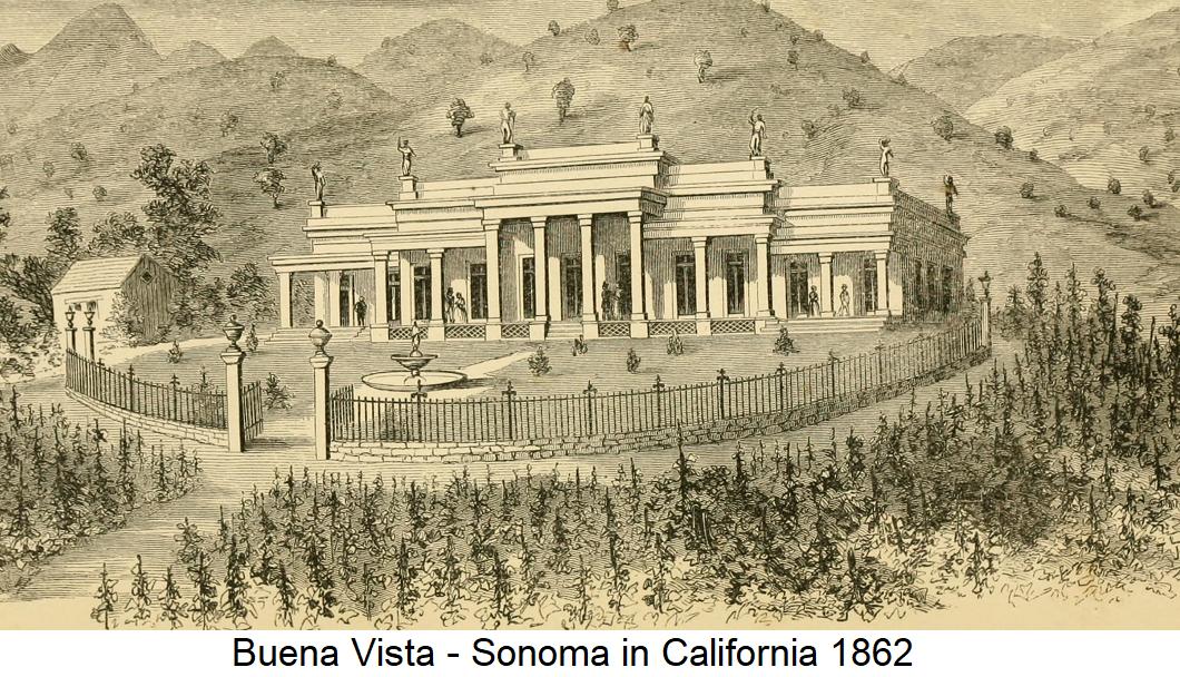 Haraszthy - Buena Vista Ranch in Sonomas 1862